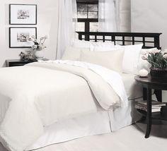Checkered Organic Cotton Sheets Set