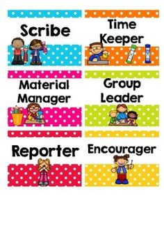 Collaborative Learning Group Work Cards/Tags Classroom Labels, Classroom Organisation, Classroom Management, Talk Moves, Cooperative Learning Groups, Group Roles, Card Tags, Cards, Learning Time