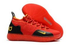 1b41452a27a8 Nike Zoom KD 11 Red Black Men s Basketball Shoes