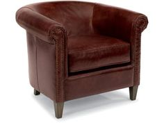 <b>Large Item Note:</b> This piece is considered a large item. Before purchasing, measure the area in which it will be placed. Also, measure any doorways, hallways or corners it must pass through during delivery and setup. Doorway, Hallways, Tub Chair, Accent Chairs, Delivery, Note, Living Room, Leather, Furniture