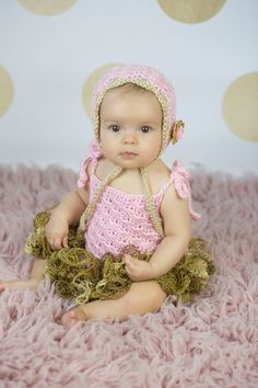 Pink and gold dress/ Can be made in any color by beanbugcreations