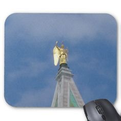 Top of Clock Tower, St. Mark's Square, Venice Mouse Pad
