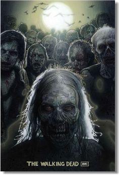 Купить ходячие мертвецы - постер, плакат, афиша №3 по низкой цене