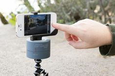 The Camalapse is a rotating stand for your compact camera or iPhone that allows you to capture smooth panning 360° time-lapse videos. The Camalapse helps you take professional quality timelapse videos; something your human hand just can't do, no matter how steady you try to hold it.