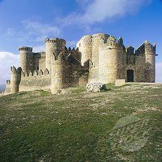 Spain, Castilla-La Mancha, Castle of Belmonte
