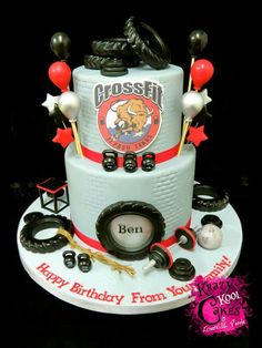 19 meilleures images du tableau Crossfit cake | Gâteau