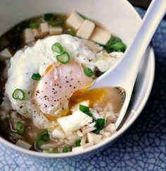 This hits home with me!! I used to eat this soooo much when I was little while living in Japan. Miso Soup with Rice & Poached Egg