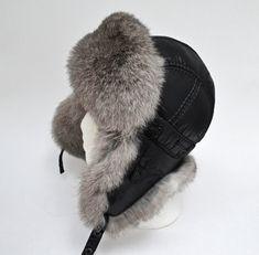 Boy Real Fur Hat, Aviator Hat, Ushanka, Russian Hat, Ski Hat,  Rabbit Fur, Fur Hat with Ear Flaps, Warm Hat, Childs Fur Hat, Trapper Hat Winter Wear, Winter Hats, Rabbit Fur Hat, Russian Hat, Fur Hats, Aviator Hat, Trapper Hats, Kids Hats, Girl With Hat