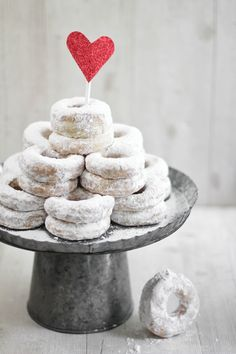 Donuts with Heart Topper