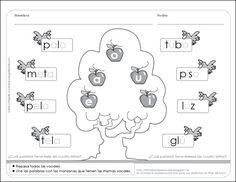 Fichas para preescolar: Vocales