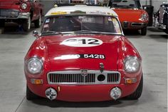 1964 MG B - Factory Race Car Replica | Classic Driver Market