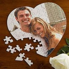 Love Connection Photo Puzzle: I also found I could order custom photo puzzles from Sam's very inexpensively!