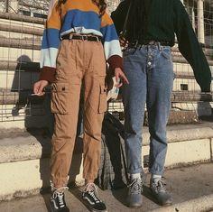 Fashion 2019 New Moda Style - fashion Aesthetic Fashion, Aesthetic Clothes, Look Fashion, 90s Fashion, Korean Fashion, Fashion Outfits, Aesthetic Grunge, Fashion Women, Aesthetic Vintage