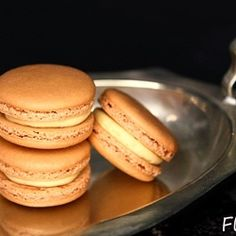 Salted Caramel Macaron by flickyourfood
