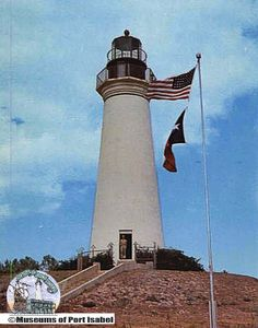 1950s view of the Port Isabel lighthouse. http://www.facebook.com/portisabeltx