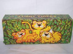 Vintage Avon Tubby Tigers Soap Set of 3-2 oz Soaps