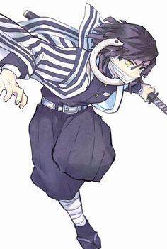 Anime Demon, Anime Manga, Anime Guys, Anime Art, Demon Slayer, Slayer Anime, Anime Characters, Pokemon, Fanart