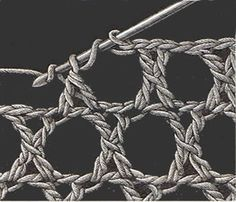 Circle Net Stitch - Heirloom Crochet - Vintage Crochet Stitches - DMC by Poohspause Heirloom Crochet - Vintage Crochet Stitches - DMC-link is direct to site. interesting site with some directions Heirloom Crochet - Vintage Crochet Stitches - DMC - All the Crochet Motifs, Crochet Diagram, Crochet Stitches Patterns, Crochet Chart, Love Crochet, Stitch Patterns, Knit Crochet, Knitting Patterns, Crochet Vintage