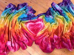 Rainbow osna dyed wrap