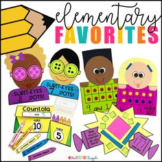 Check out some of the best resources for kindergarten, first grade, and second grade! They're perfect for the first day of school, the back to school season, or any time of year! Each activity is engaging, fun, and will help you effectively deliver content to your students. From teaching adjectives to celebrating reading to meet the teacher to making friends to learning number sense with crafts, this post has it all!