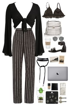 """Untitled #2903"" by wtf-towear ❤ liked on Polyvore featuring Balenciaga, Ganni, WALL, Proenza Schouler, Ray-Ban, Lamoda, Bosca and Topshop"