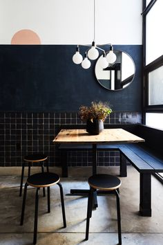 """""""Tokyo meets New York"""" in dark-coloured ramen restaurant by Carpenter & Mason"""