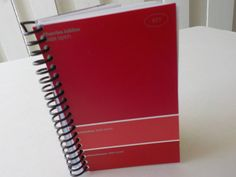 Notebook 5.0 X 3.25 100 Sheets Paint Sample Cards by LeeEmporium