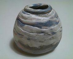 Vaso marmorizado by Cibele Nakamura
