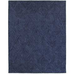 Found it at Wayfair - Integrity Hand-crafted Blue Area Rug