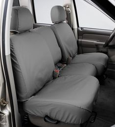 Covercraft Carhartt SeatSaver Second Row Custom Fit Seat Cover for Select Nissan Murano Models Brown Duck Weave