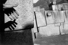 Sergio Larrain. PERU. Cuzco. Saxahuam fortress. Megalithic stone work. 1960