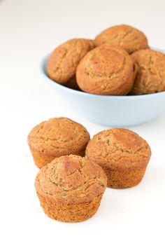 Gluten Free Vegan Zucchini Muffins. They