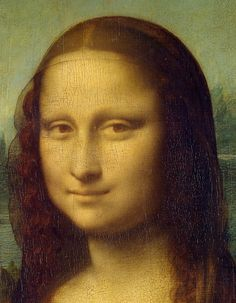 Leonardo da Vinci, 1452-1519, Italian, Portrait of Lisa del Giocondo (Mona Lisa) (detail), 1503-1506 and later (1510?).  Oil on poplar.  Musée du Louvre, Paris.  High Renaissance.