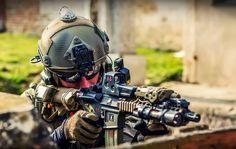 simonavalle:  45-9mm-5-56mm:  (via TumbleOn)  Cant tell if MARSOC or Ranger