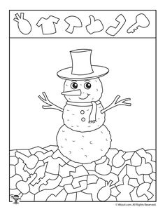 Winter Hidden Pictures Coloring Pages Winter Activities For Kids, Winter Crafts For Kids, Winter Kids, Preschool Activities, Puzzle Crafts, Hidden Pictures, Picture Puzzles, Fun Worksheets, Winter Theme