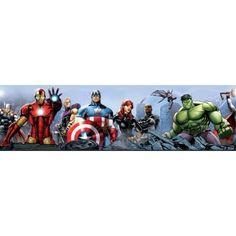 Frise adhésive murale Avengers, 15,90 €