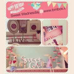 Sweet Wednesday@ www.bmbox.it #bitemebox #bmbox #follow #party #fun #theme #home #sweet #home #table #birthday #decoration #homedelivery #design #festa