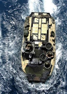 army Marine Amphibious Assault Vehicle