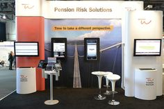 Booth Design for Towers Watson. Visit us to know more our solutions http://www.expodisplayservice.ae/allproducts.asp