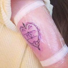 cutie-pie-marzia-heart-arm-tattoo
