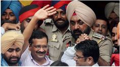 """After getting a bail in a defamation case, AAP convener unleashed on Akali Dal once again with drug issue. Hitting back on Kejriwal, Punjab CM said that Delhi chief minister was a """"frustrated man"""" unaware of the dignity of his chair.  Interacting with the media persons on the sidelines of his 'San"""