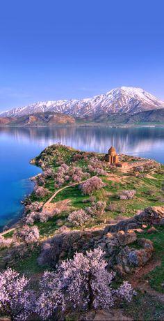 Akdamar Island, Lake Van, #Turkey http://reversehomesickness.com/asia/armenian-monasteries-and-monuments/