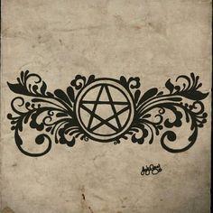 Pagan Pentacle Tattoo by *gutterface on deviantART