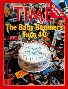 Papercrafting Challenge: Magazine Mondays - Week 92 Inspiration Piece Due March 29 at midnight Time Magazine, Magazine Covers, Magazine Rack, Boomer Generation, Time News, Baby Boom, Saving For Retirement, Thats The Way, Vintage Ads