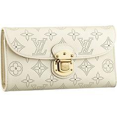 Louis Vuitton M58132 Mahina Leather Amelia Wallet Lin