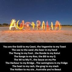 of this you will only understand after living there. :) I miss my Australia friends :(Most of this you will only understand after living there. :) I miss my Australia friends :(