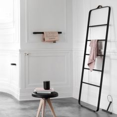 Drabinka łazienkowa- #MENU - DECO Salon. #bathroom #ladder #scandinaviandesign