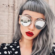 Find inspiration in these gray hair ideas for all hair textures, including charcoal, ash gray, silver, platinum, white tones and more.