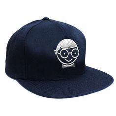 Nerd face navy snapback  I would change the cap alil  Snapback 19960c68d03c