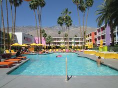 Saguaro Pool, Palm Springs. Photo by http://nancydbrown.com